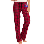 JUNIORS, Flannel Plaid Pant, FSC Crest