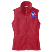 LADIES, Full-Zip, Fleece Vest, FSC Crest