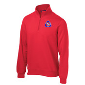 ADULT, 1/4 Zip Sweatshirt, FSC Crest 2